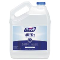 PURELL Healthcare Surface Disinfectant, Fragrance Free, 128 oz Bottle -GOJ434004EA