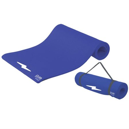 Fitness Deluxe 12mm Exercise Mat - Iris 12 Mm Manual Iris