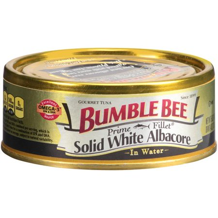 Bumble Bee Solid White Albacore Tuna Gourmet Prime Fillet, 5