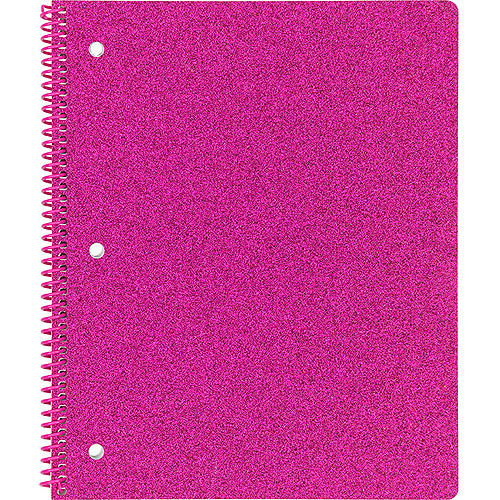 University Of Style Glitter 1 Subject Notebook 80ct (wr)