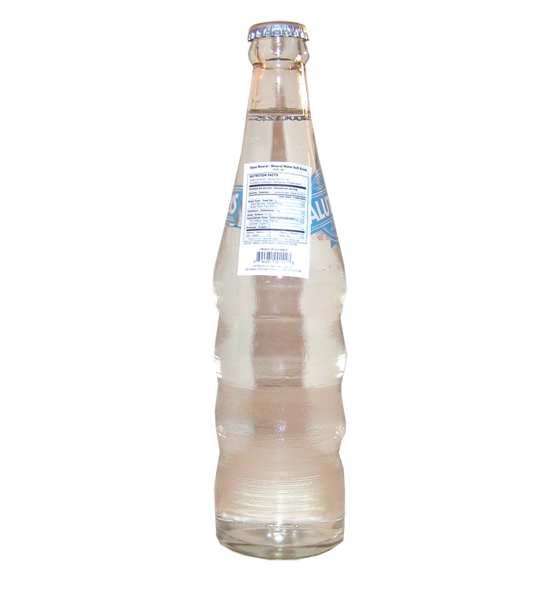 Mineral Water Drink 12 oz Agua Mineral (Pack of 1) by La Mariposa