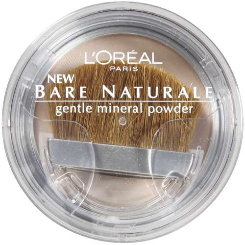 L'Oreal Paris Bare Naturale Gentle Mineral Powder, 408 Soft Ivory