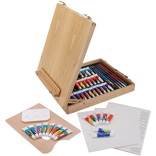 Easel Artist Set, All Media, 48 Pieces