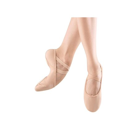 Bloch Womens Profelx Canvas Leather Low Top Pull On Ballet & Dance Shoes - Bloch Ballet