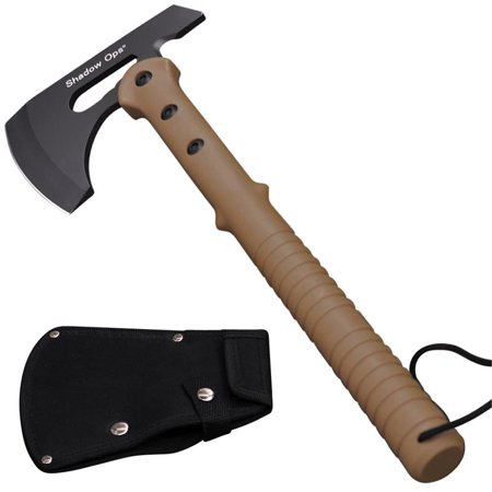 16 inchShadow Ops® Tactical Axe with Beige Handle and Includes Blade Case thumbnail