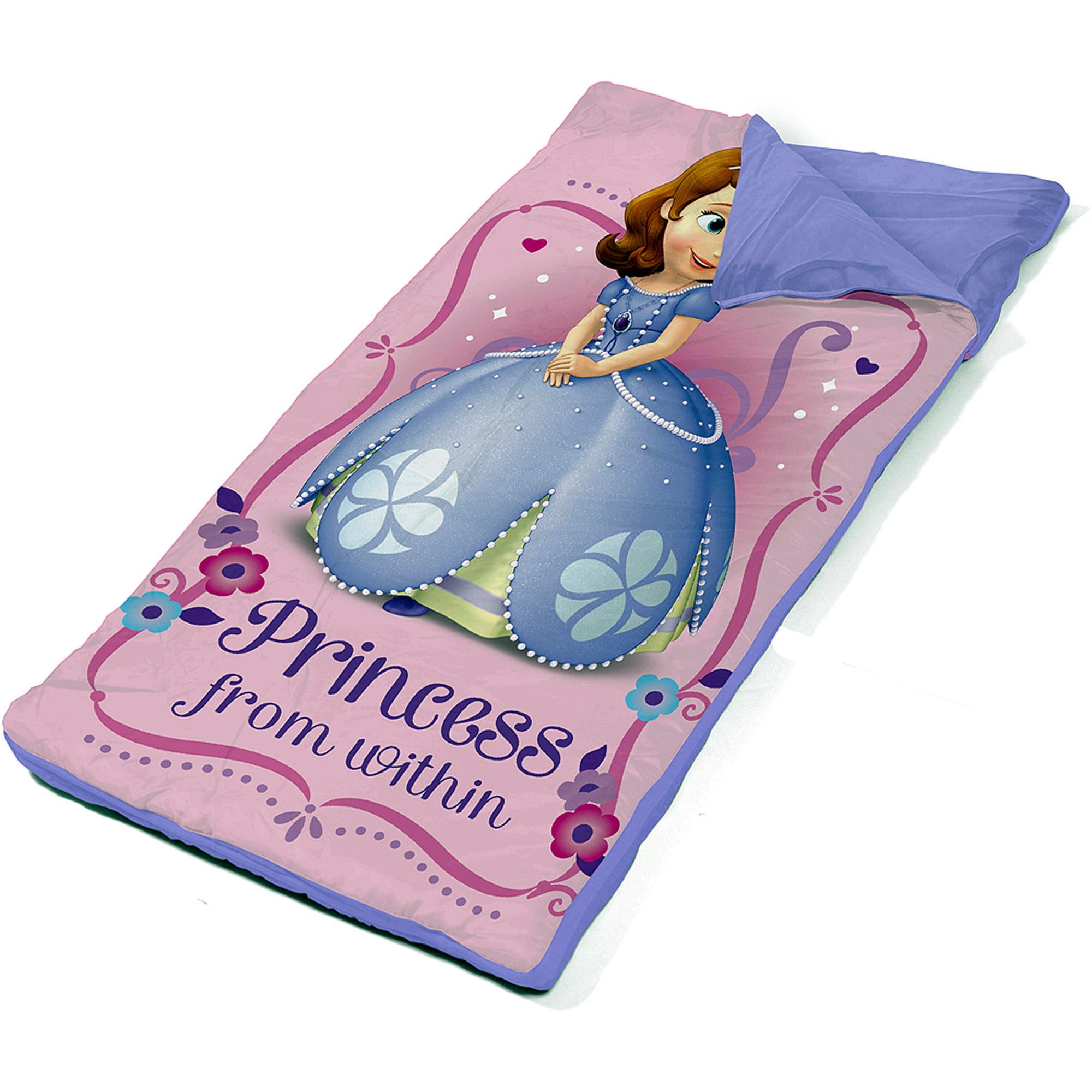 Disney Sofia the First Slumber Set with BONUS Sling Bag