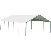 Shelterlogic Super Max 18' x 30' White Premium Canopy