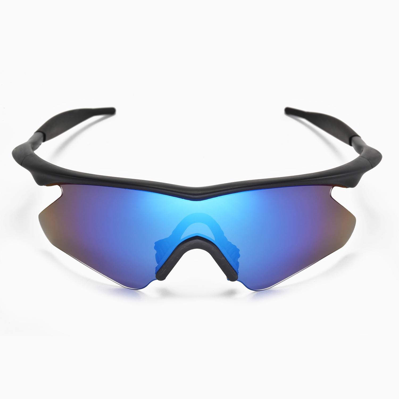 Walleva Ice Blue Polarized Lenses And Blue Earsocks For Oakley M ...