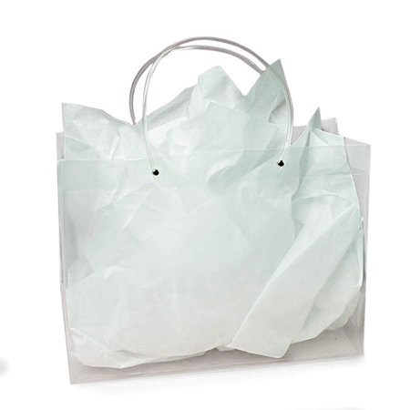 Clear Handle Gift Bags 4-3/4
