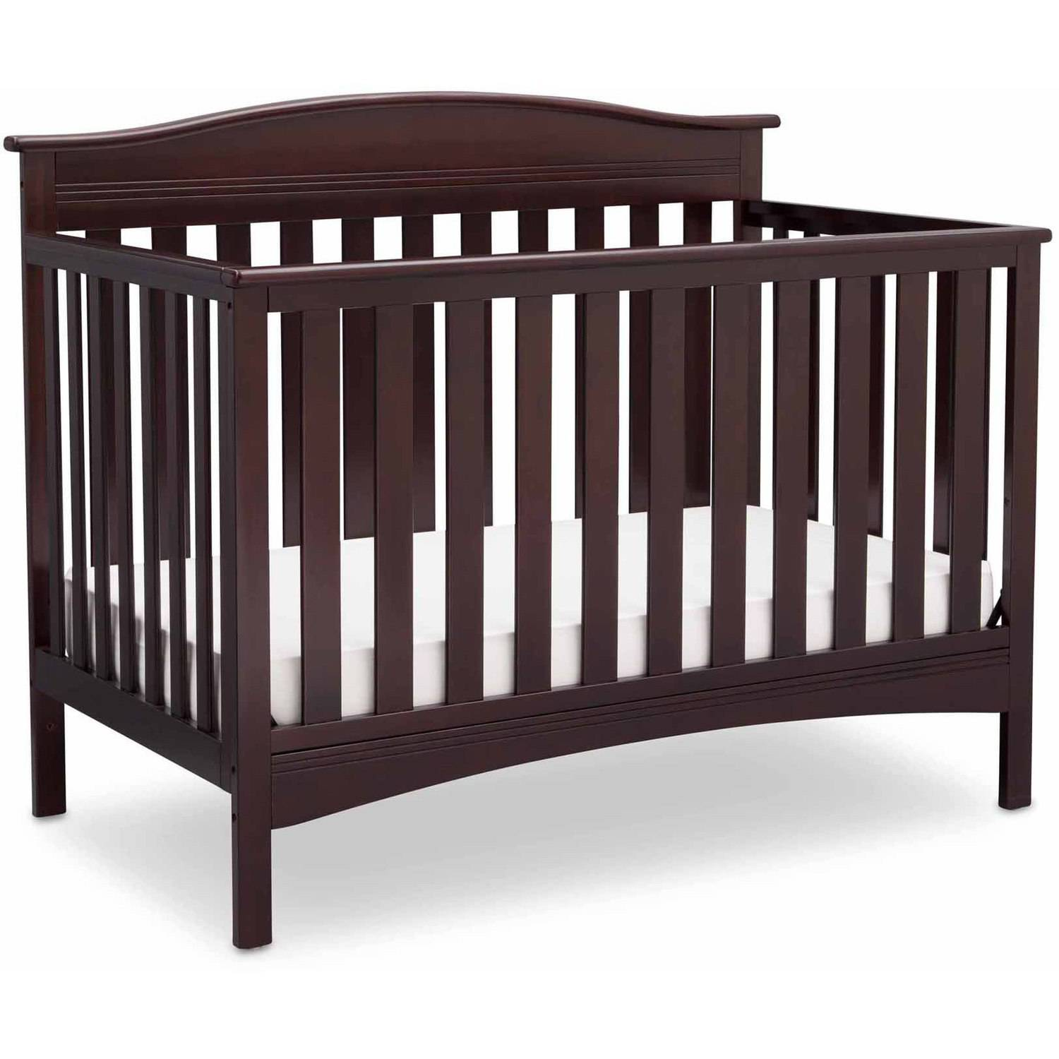 Delta Children Baker 4 In 1 Convertible Crib Dark Chocolate
