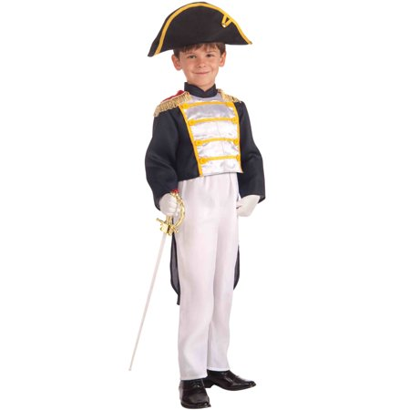 Colonial General Child Costume (M)