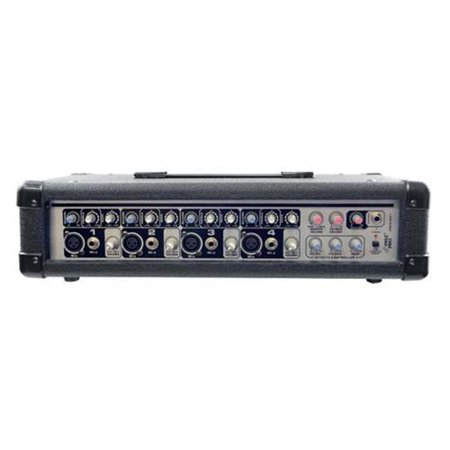 PYLE PRO PMX401 4-Channel Powered PA Mixer - Walmart.com
