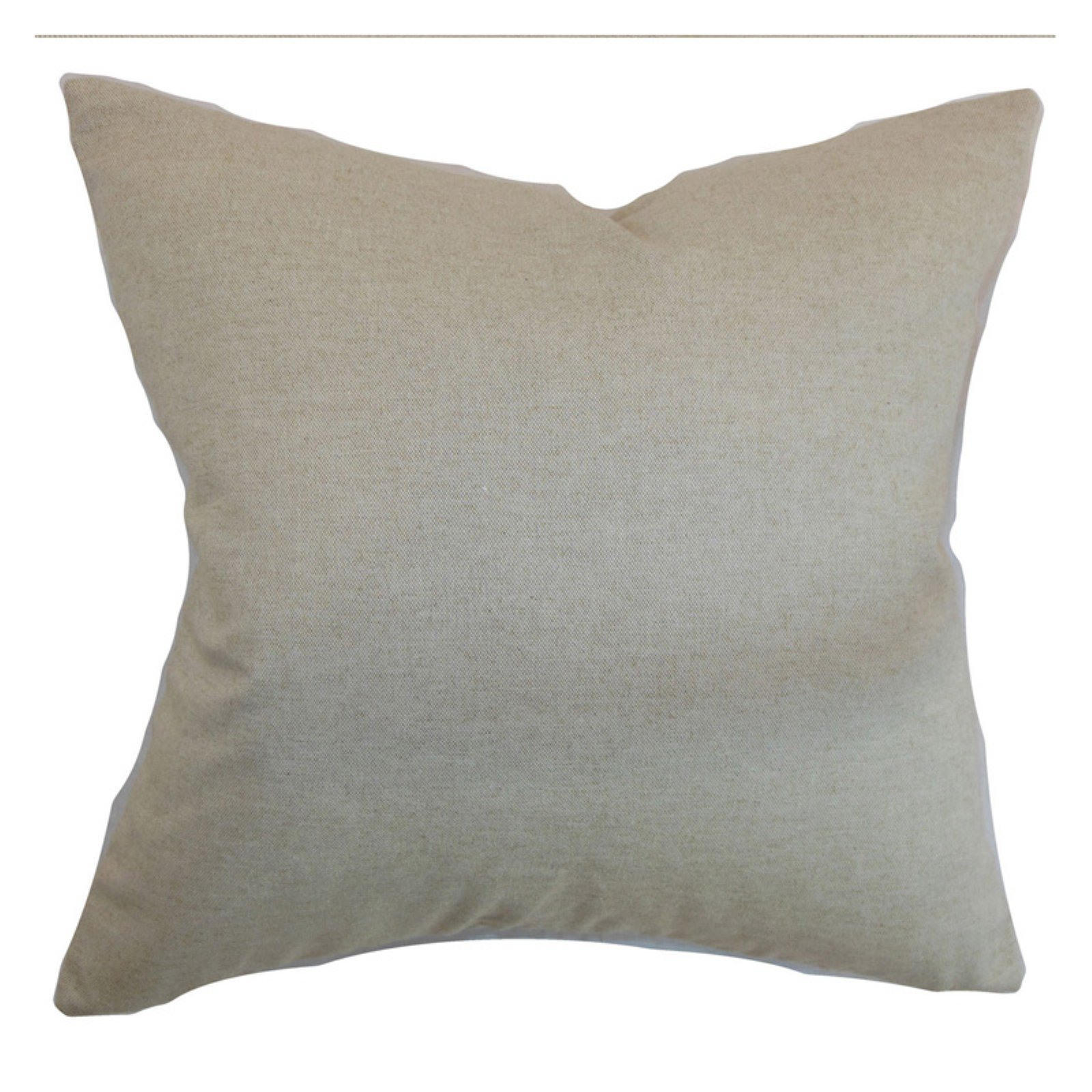 The Pillow Collection Napperby Solid Pillow - Linen