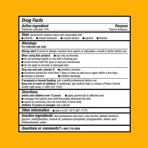 Equate Arthricream Pain Relieving Cream With Aloe 3 Oz