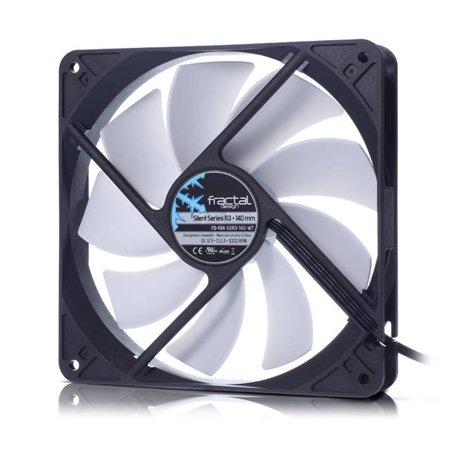 Fractal Design Silent R3 140mm Cooling Fan White (fd-fan-ssr3-140-wt)