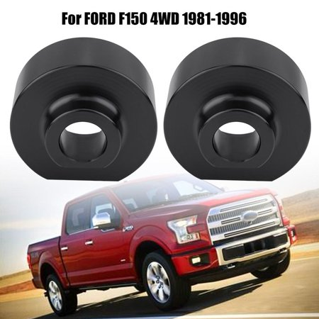 Bronco 4wd Front Lift - EECOO 2  Front Leveling Lift Kit& Studs for Ford F150 4WD Bronco 4WD 1981-1996,Front Leveling Lift Kit,Leveling Lift Kit for Ford F150