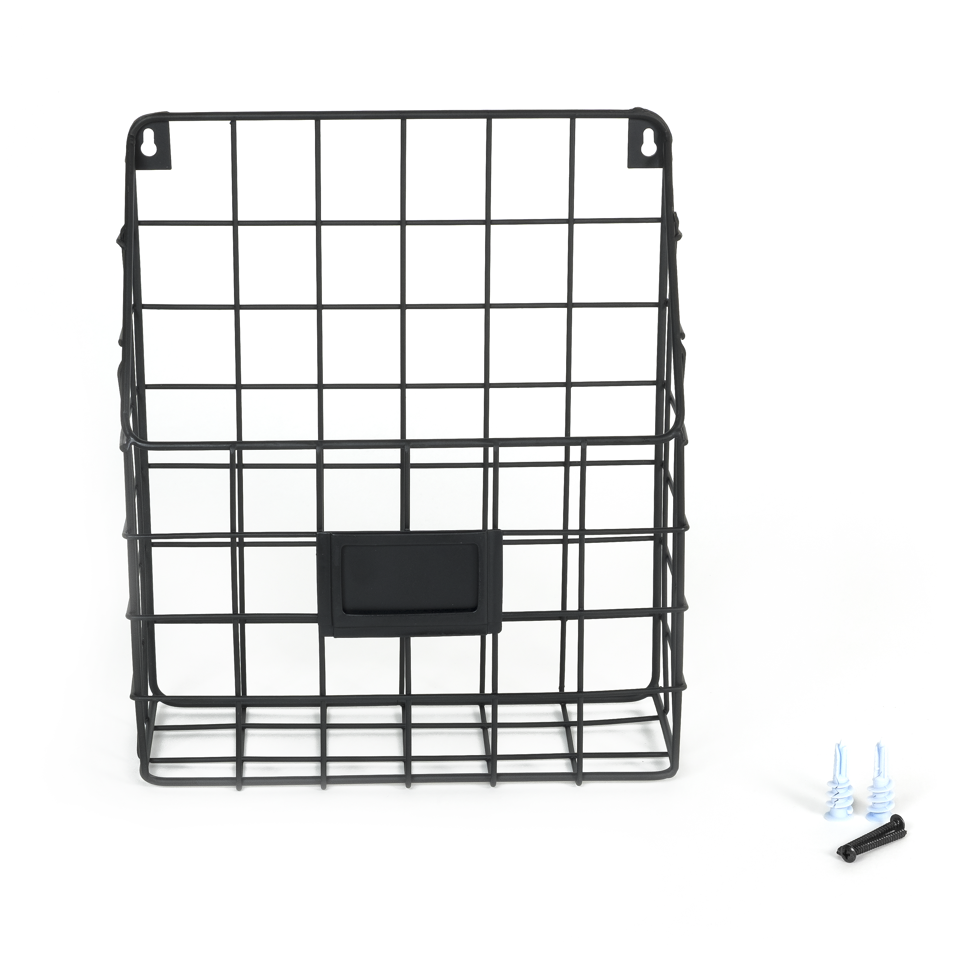 Wall35 Mesh Wire Wall Mount Hanging File Folder Mail Organizer ...