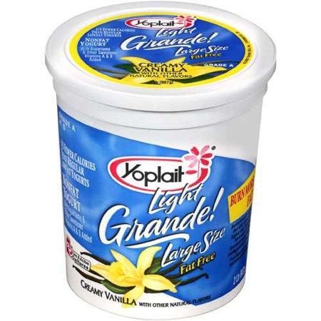 Yoplait Light Creamy Vanilla Grande Yogurt 2 Lb Walmart Com