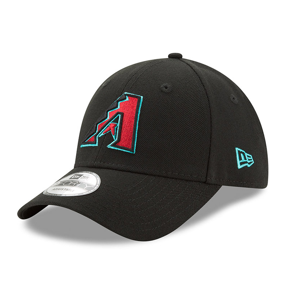 Arizona Diamondbacks New Era The League 9FORTY Adjustable Hat - Black - OSFA
