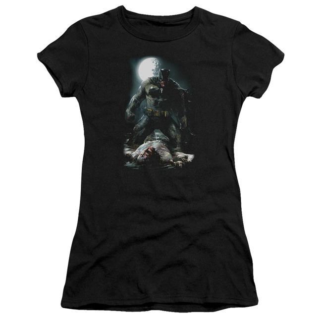 Batman Mudhole-Premium Bella Junior Sheer Jersey, Black - Small - image 1 of 1
