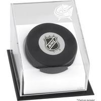 Mounted Memories Hockey Puck Logo Display Case