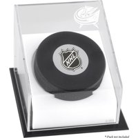 Mounted Memories Hockey Puck Logo Display Case