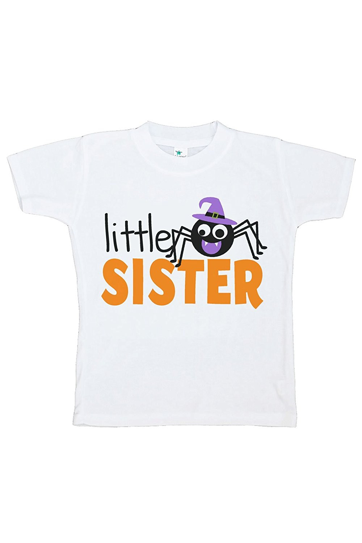 Custom Party Shop Kids Little Sister Halloween Tshirt - 3T Tshirt