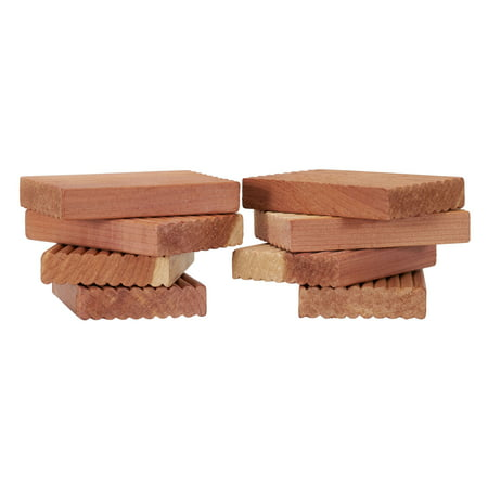 Household Essentials Cedar with Lavender Blocks, 8-Count - Lavender Cedar Blocks