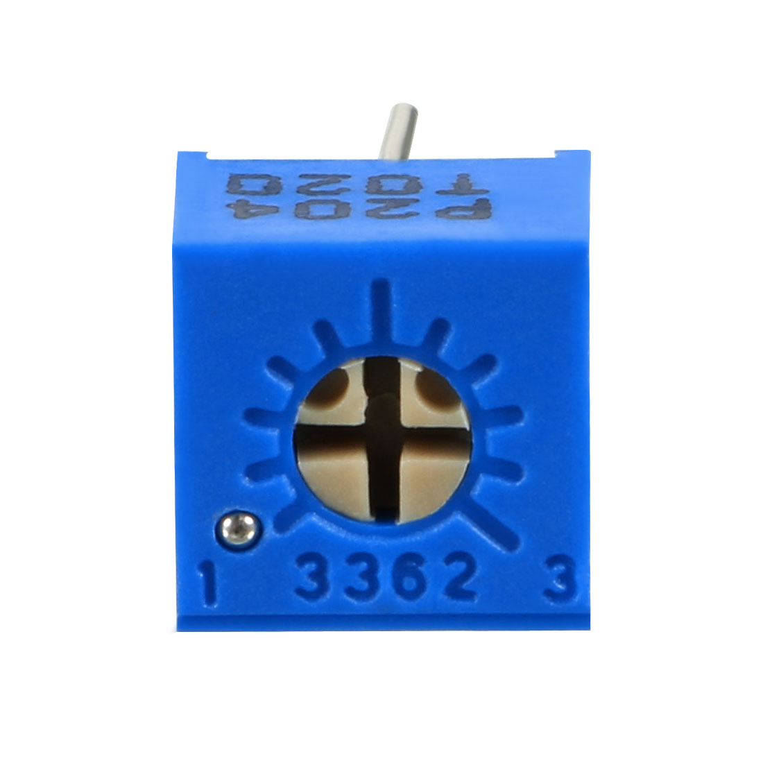 Resistors 200k Ohm Top Adjustment Horizontal Cermet Potentiometer 20 Pcs - image 4 de 6