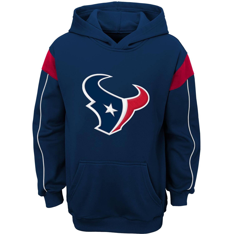 NFL Boys' Houston Texans Team Hooded Fleece Top