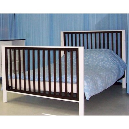 Eden Baby Moderno Collection Extensional Kit for Crib, Espresso