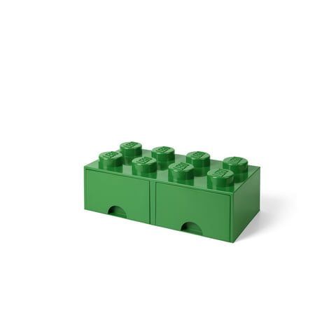 LEGO Storage Brick Drawer 8, Dark Green