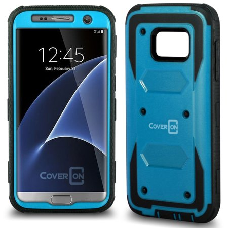 CoverON Samsung Galaxy S7 Case, Tank Series Hard Protective Armor Phone (Hand Top Cover)