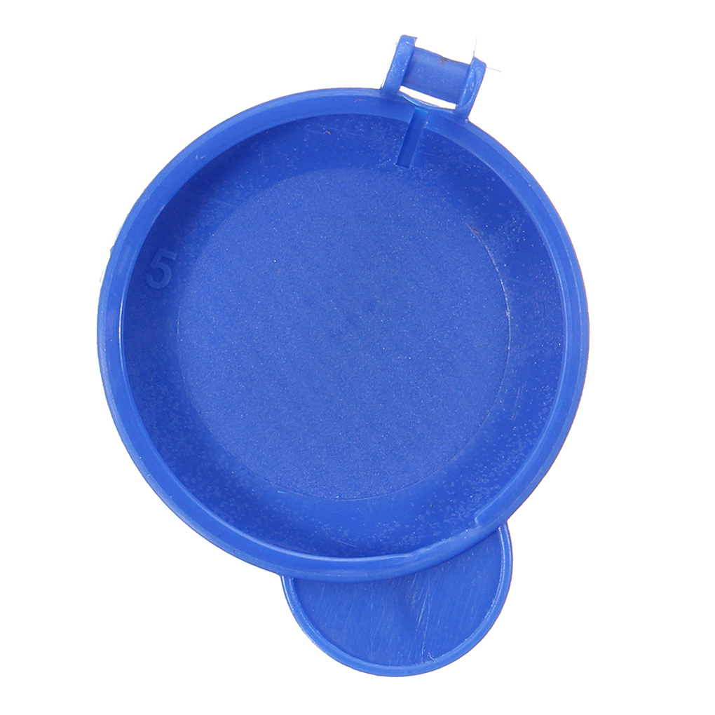 Blue Windscreen Washer Bottle Cap Compatible for Ford Fiesta MK6 2001-2008 1488251 2S61 17632AD