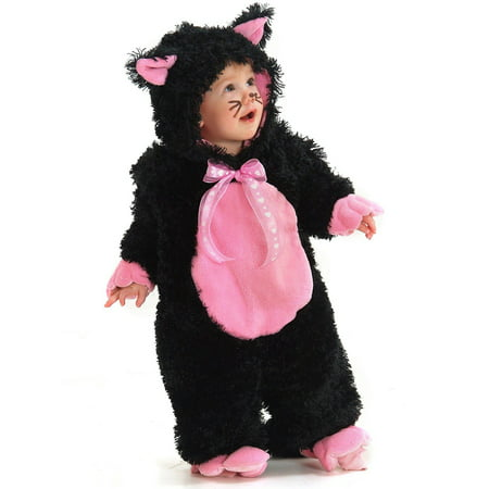Black and Pink Kitty Halloween Costume](Kitty Cat Halloween Costumes)