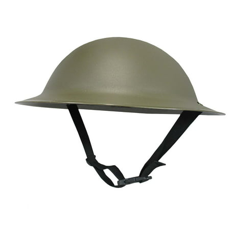 Adult Ally Army Helmet Costume, Olive Drab Green, One Size - British Army Costume