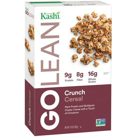 Crunch Goat ((2 Pack) Kashi Go Lean Crunch Non-GMO Breakfast Cereal, 13.8 Oz)