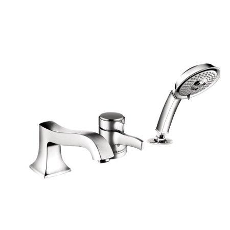 Hansgrohe Metris C Single Handle Deck Mounted Roman Tub Faucet Trim ...