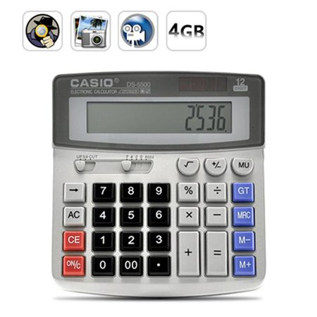 Ankaka ARI-DC29 Calculator Spy Camera 640 x 480 at 30fps, 4GB by
