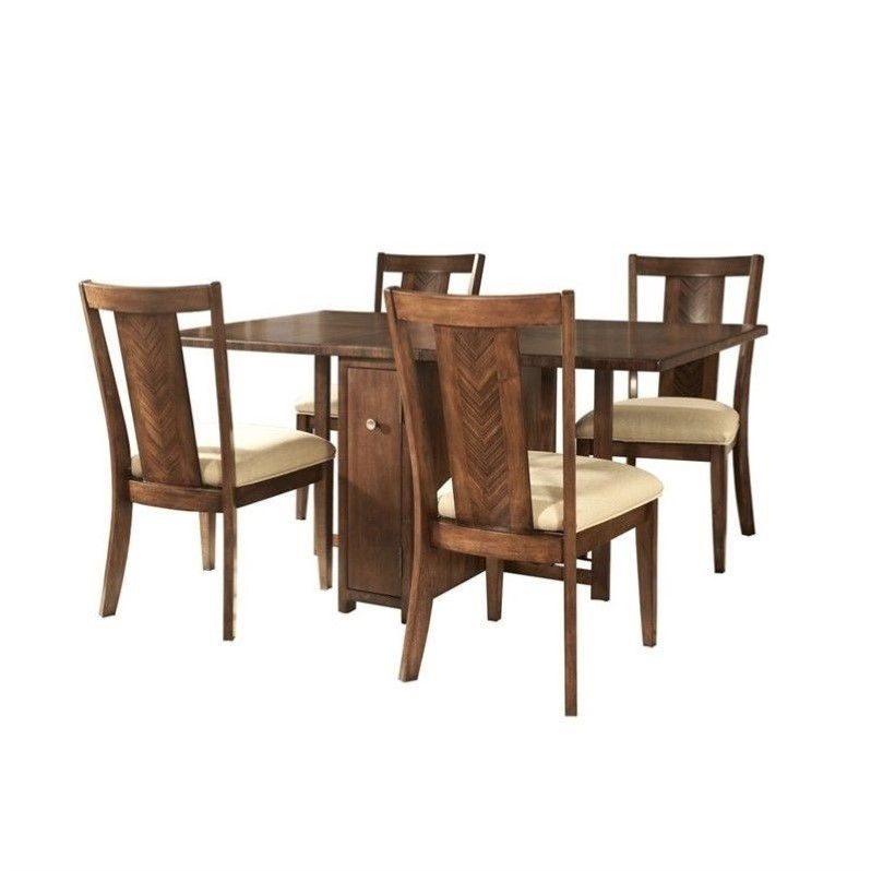 Somerton Runway Gate Dining Table in Warm Chestnut