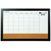 Quartet Home Décor Magnetic Combination Calendar Board, 23 x 35, Dry-Erase &