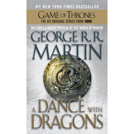 5 Paperback Books - A Dance with Dragons : A Song of Ice and Fire: Book Five - Mass Market Paperback
