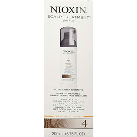 System 4 Scalp and Hair Treatment For Fine Hair Chemically Treated by Nioxin for Unisex - 6.76 oz Tre - image 5 de 5