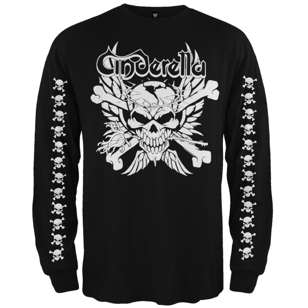 Cinderella - Skull & Crossbones Long Sleeve T-Shirt