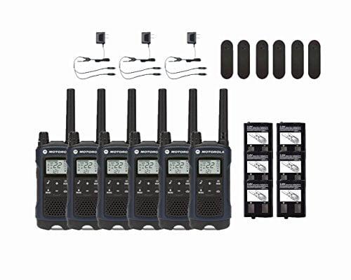 Motorola Talkabout T460 Two-Way Radios   Walkie Talkies 6-PACK by MOTOROLA