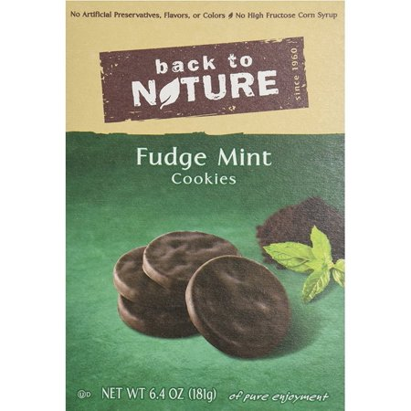 2 Pack - Back to Nature Fudge Mint Cookies 6.4 oz