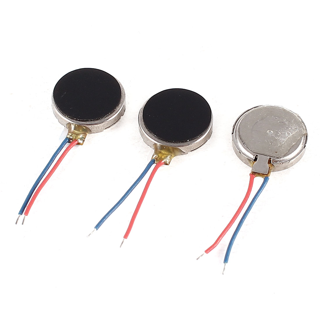 3V DC 2 Leads 10mm x 2.7mm Coin Mobile Phone Vibration Motor 3 Pcs - image 1 of 1