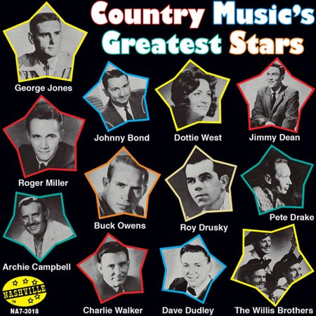 Country Music's Greatest Stars (CD) (Jr Walker & The All Stars Greatest Hits)