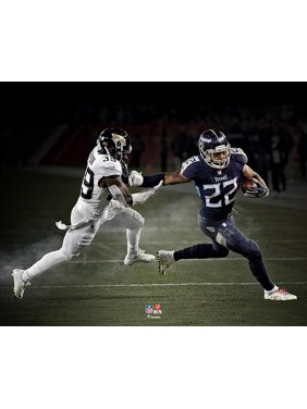 Derrick Henry Tennessee Titans Record Breaking Unsigned Photograph