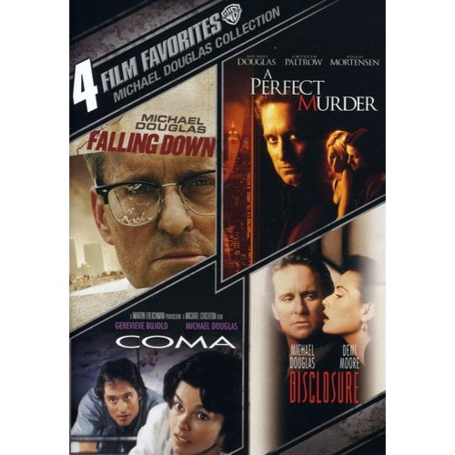 Michael Douglas Collection: 4 Film Favorites - Falling Down / A Perfect Murder / Disclosure / Coma (Widescreen)